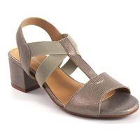 Sapatos Mulher Sandálias Maria Jaen Sandália senhora  500 ouro Argenté