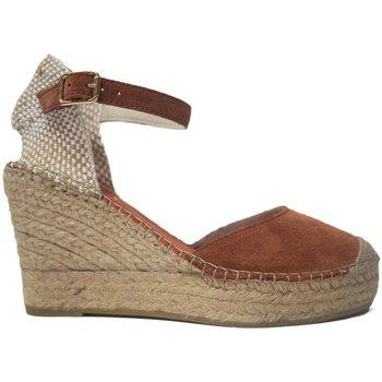 Sapatos Mulher Alpargatas Vidorreta Cuña  11600 Arcilla Laranja