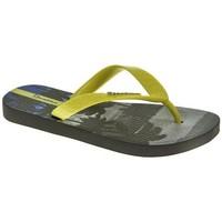 Sapatos Rapaz Chinelos Rider 82777 Gris
