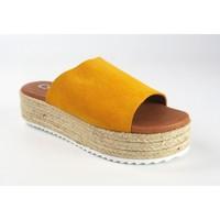 Sapatos Mulher Chinelos Csy Sandália de senhora CO & SO 23020 mostarda Amarelo