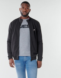 Textil Homem Sweats Guess AL TRUCK FLEECE Preto