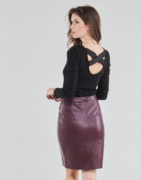 Textil Mulher Tops / Blusas Guess AYADA Preto