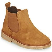 Sapatos Criança Botas baixas Citrouille et Compagnie HOVETTE Camel