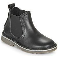 Sapatos Criança Botas baixas Citrouille et Compagnie HOVETTE Preto