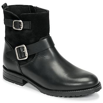 Sapatos Rapariga Botas baixas Citrouille et Compagnie NIVOLE Preto