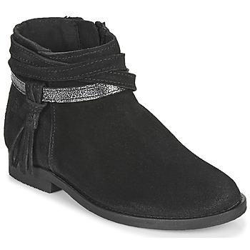 Sapatos Rapariga Botas baixas Citrouille et Compagnie NIVOLET Preto