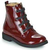 Sapatos Rapariga Botas baixas Citrouille et Compagnie HEMANU Bordô
