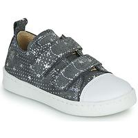 Sapatos Rapariga Sapatilhas Citrouille et Compagnie NADIR Cinza / Prata