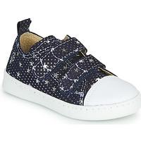 Sapatos Rapariga Sapatilhas Citrouille et Compagnie NADIR Marinho / Prata