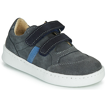Sapatos Rapaz Sapatilhas Citrouille et Compagnie NESTOK Cinza / Marinho