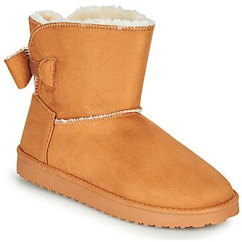 Sapatos Mulher Botas baixas Moony Mood NOWER Camel
