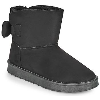 Sapatos Mulher Botas baixas Moony Mood NOWER Preto