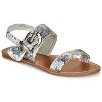 Sapatos Mulher Sandálias Les Petites Bombes PERVENCHE Cinza