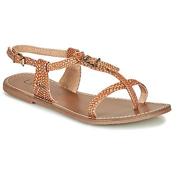 Sapatos Mulher Sandálias Les Petites Bombes ZHOEF Camel