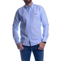 Textil Homem Camisas mangas comprida Elpulpo PM3005101-510 azul