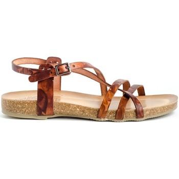 Sapatos Mulher Sandálias Porronet 2615 Castanho