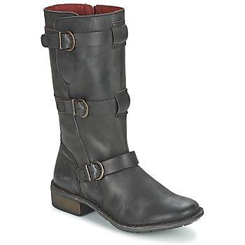Sapatos Mulher Botas Kickers GROWUP Preto