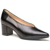 Sapatos Mulher Escarpim Cbp - Conbuenpie Zapato de mujer de piel con tacón by Desiree Noir