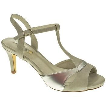 Sapatos Mulher Sandálias D'angela DMS17567 Plata