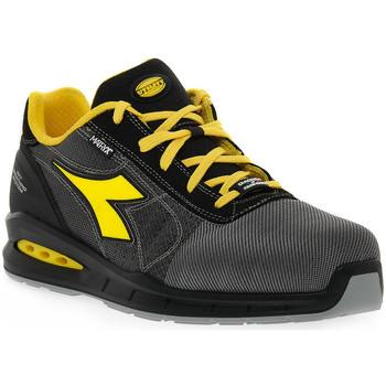 Sapatos Homem Sapato de segurança Diadora UTILITY RUN NET AIRBOX Grigio