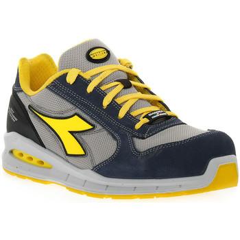 Sapatos Homem Sapato de segurança Diadora UTILITY RUN NET AIRBOX LOW Blu