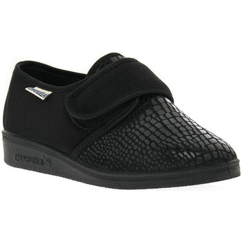 Sapatos Mulher Chinelos Emanuela 649 NERO PANTOFOLA Nero