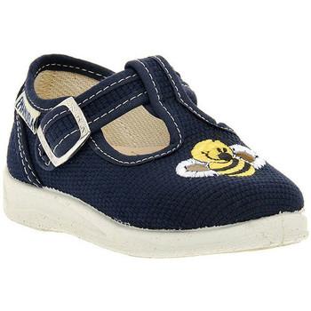 Sapatos Rapaz Sandálias Emanuela BLU SANDALO Blu