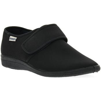 Sapatos Homem Chinelos Emanuela 986 NERO PANTOFOLA Nero