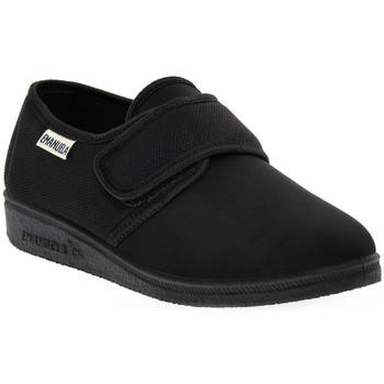 Sapatos Mulher Chinelos Emanuela 655 NERO PANTOFOLA Nero