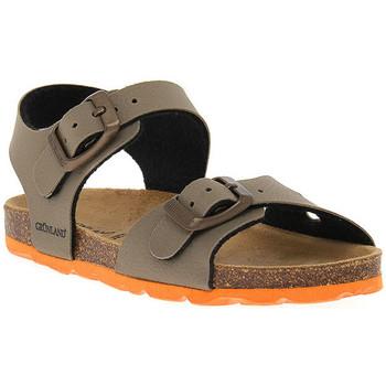 Sapatos Rapaz Sandálias Grunland TORTORA 40ARIA Beige