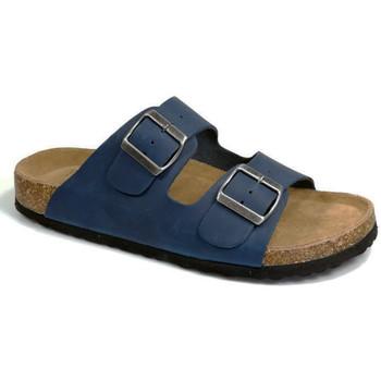 Sapatos Homem Chinelos Bipedes GUTTEN pr1060 navy Azul