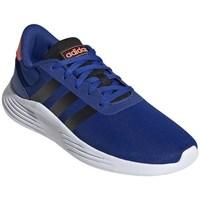 Sapatos Rapaz Sapatilhas de corrida adidas Originals Lite Racer Branco, Azul, Cor de laranja