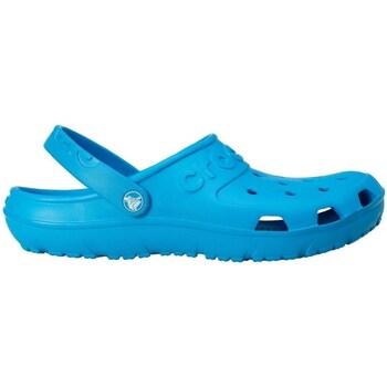 Sapatos Homem Tamancos Crocs Hilo Clog Ocean Azul