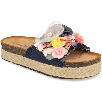 Sapatos Mulher Chinelos Ainy LSS-19 Marino