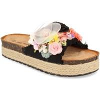 Sapatos Mulher Chinelos Ainy LSS-19 Negro