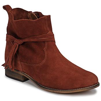 Sapatos Mulher Botas baixas Betty London NENESS Tijolo