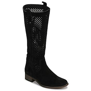 Sapatos Mulher Botas Betty London DIVOUI Preto