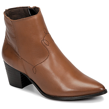 Sapatos Mulher Botins Betty London NIMIE Camel
