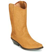 Sapatos Mulher Botas Betty London LOVA Camel