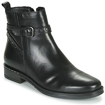 Sapatos Mulher Botas baixas Betty London NORIA Preto