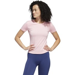 Textil Mulher T-Shirt mangas curtas adidas Originals Tee Trening Cor-de-rosa