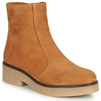 Sapatos Mulher Botas baixas Chie Mihara YETI Camel