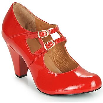 Sapatos Mulher Escarpim Cristofoli MASTIS Vermelho / Verniz