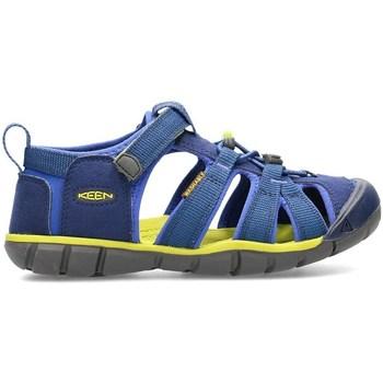 Sapatos Criança Sandálias Keen Seacamp II Cnx Azul, Verde azeitona, Grafite