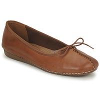 Sapatos Mulher Sabrinas Clarks FRECKLE ICE Castanho