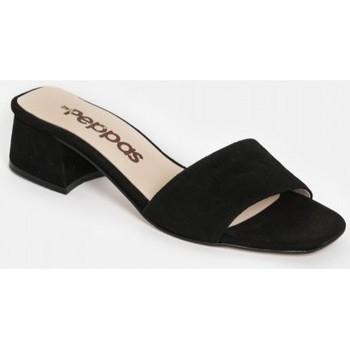 Sapatos Mulher Chinelos By Peppas KAIA Preto