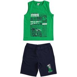 Textil Rapaz Conjunto Ido 4J019 Verde