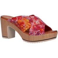 Sapatos Mulher Chinelos Valeria's 6235003 Rojo