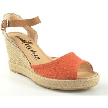 Sapatos Mulher Sandálias Calzamur 267 rojo