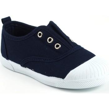 Sapatos Rapariga Sapatilhas Vulca Bicha Tela infantil  625 azul Bleu